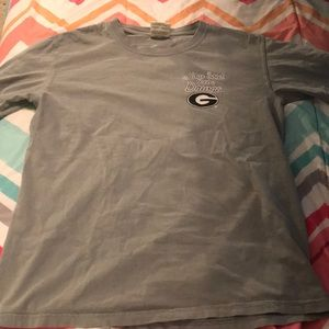 Gray Comfort colors UGA T-shirt size:S